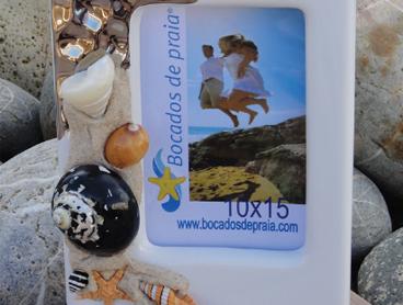 Bocados de Praia Catalog - Frames, Boxes and Gifts